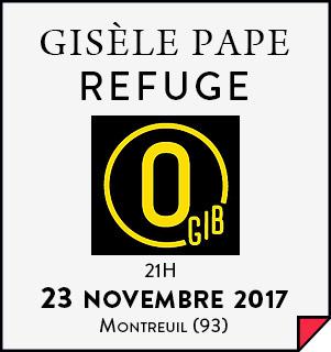 Gisèle Pape - 23-11-2017 - O Gib